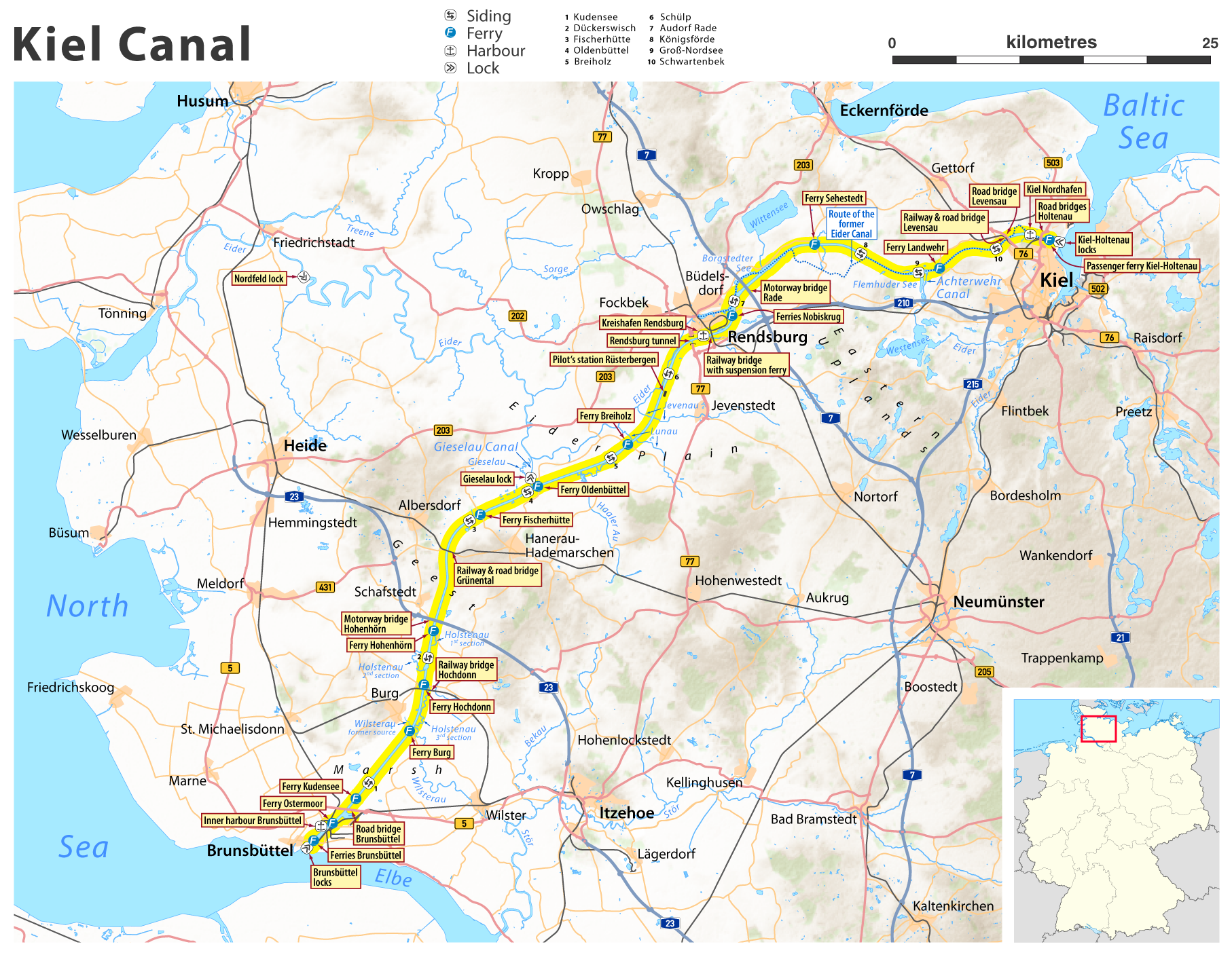 File:Map of the Kiel Canal.png   Wikimedia Commons