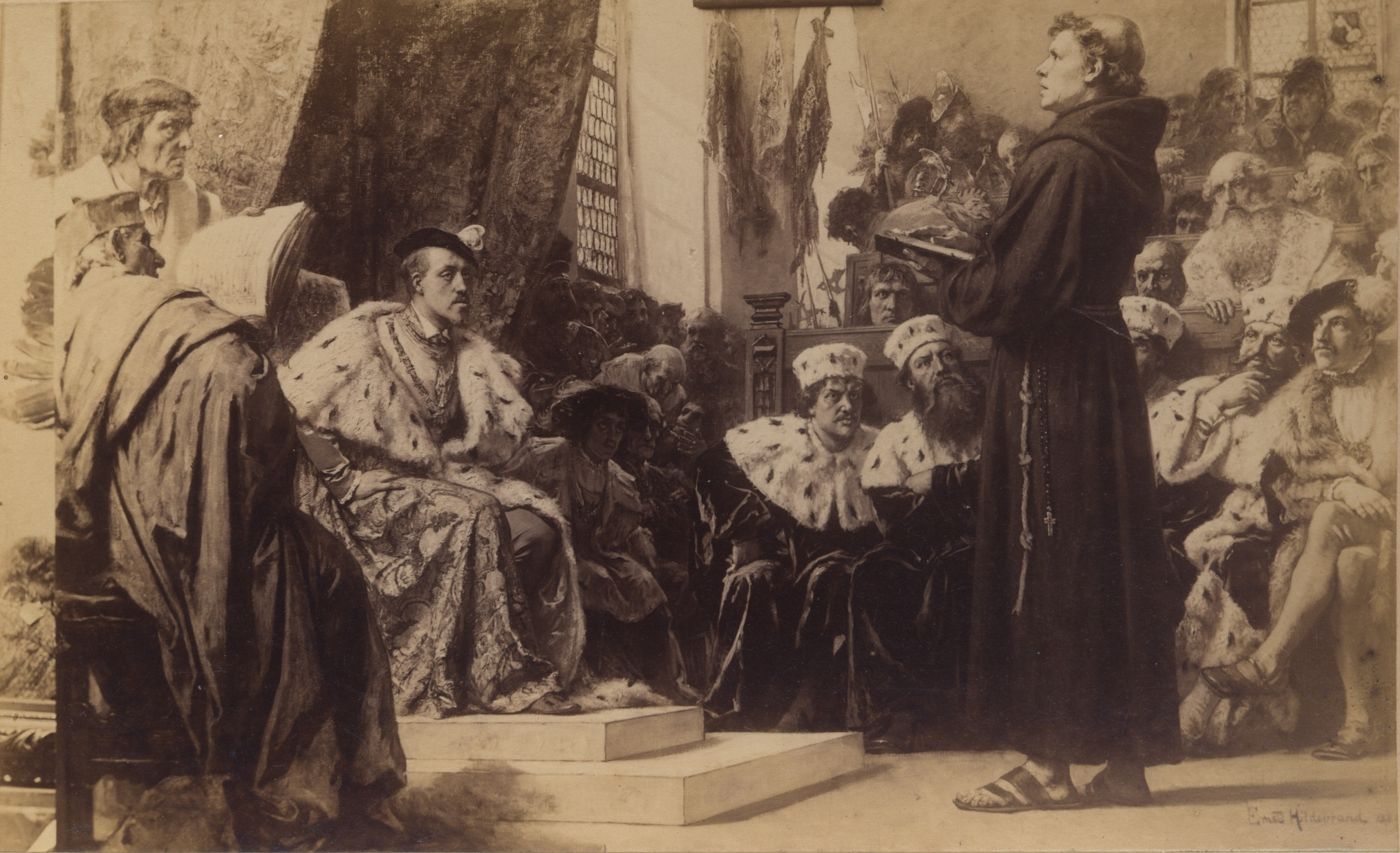 the genesis of the conflict between martin luther and the roman catholic church So the catholic church,  james akin would be a name equal in glory to that of jesus of  johannes oecolampadius, and even martin luther himself did not 4.