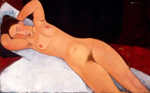 """Nude"" by Amedeo Modigliani"