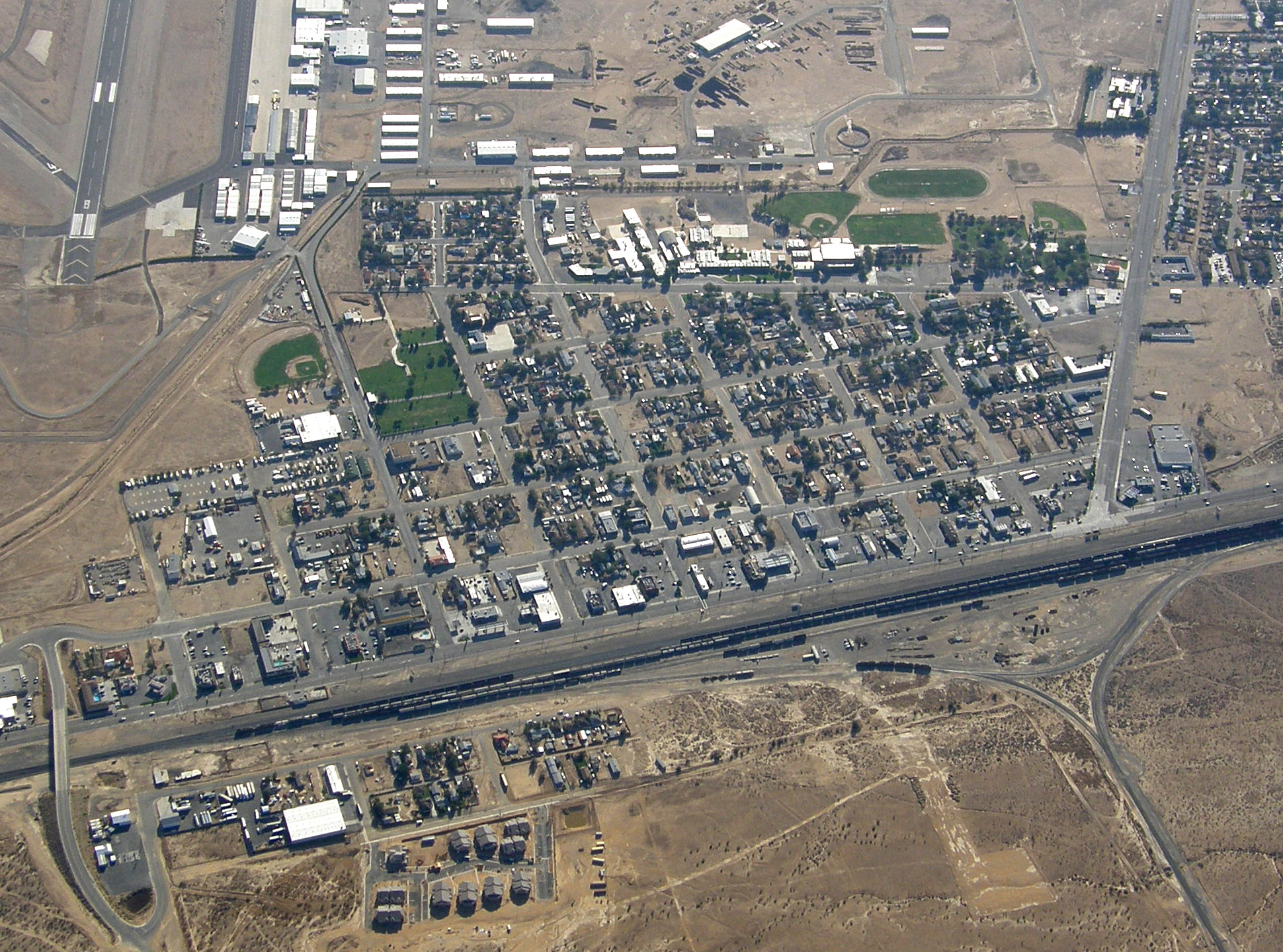 City Of Mojave On Map