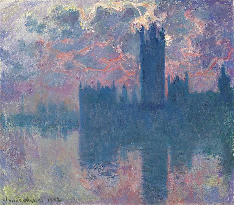 Monet: File:Monet Houses Of Parliament, Sunset.jpg