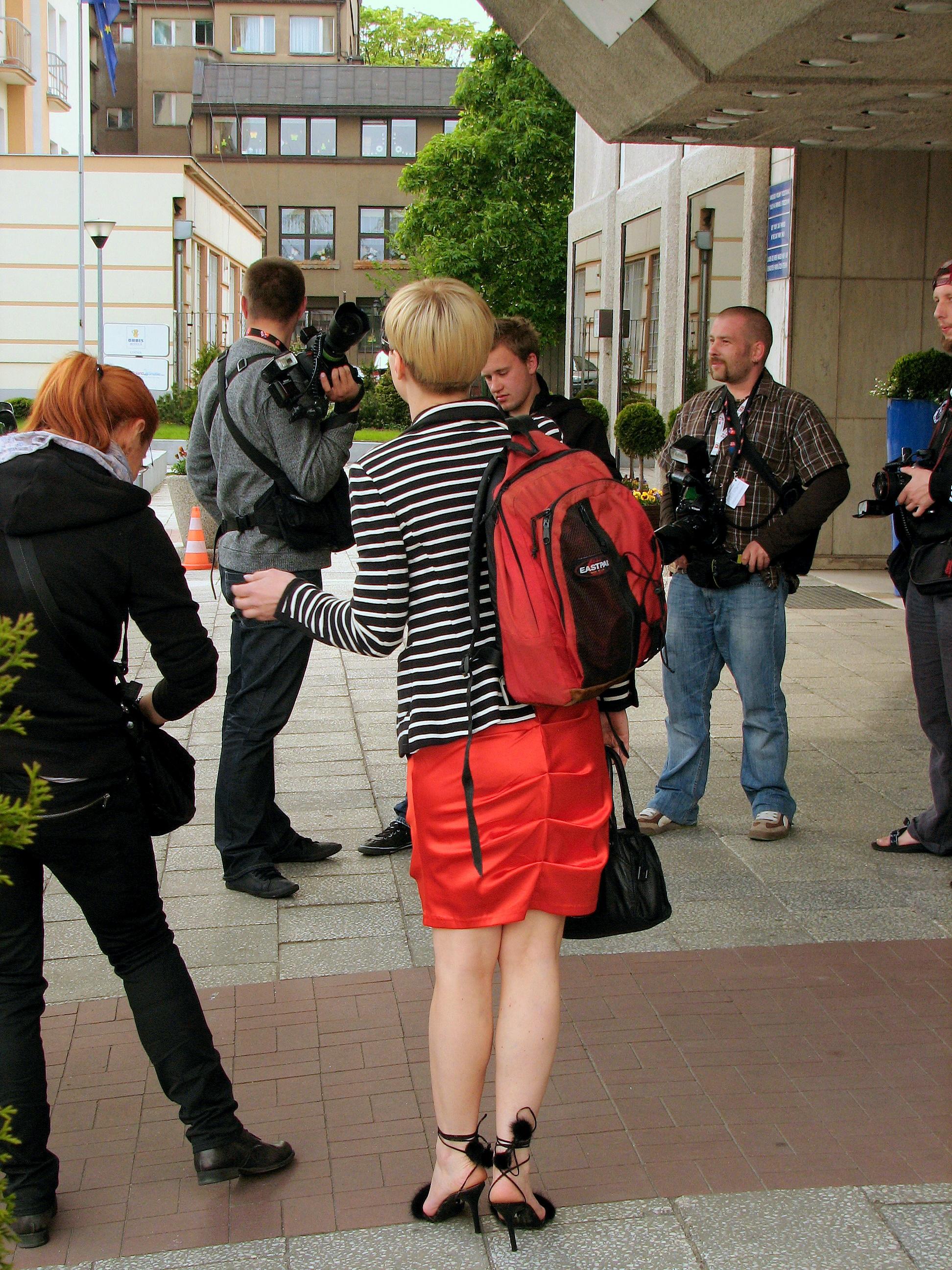 file:monika richardson at hotel gdynia during xxxv polish film