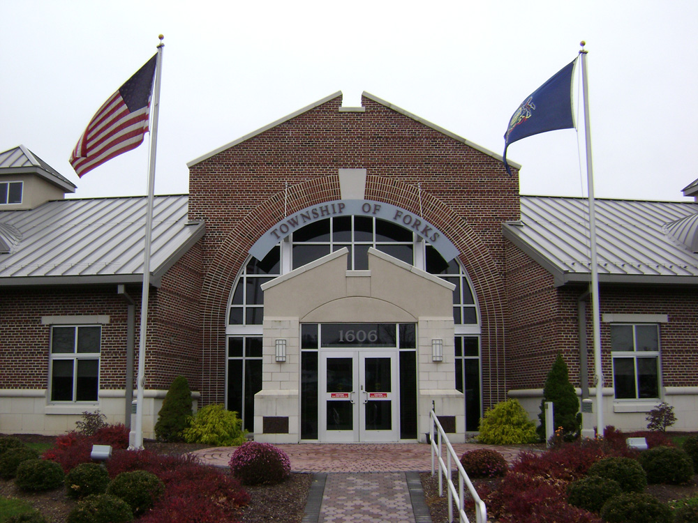 File:Municipal Building in Forks Township Northampton County PAbalance of northampton county