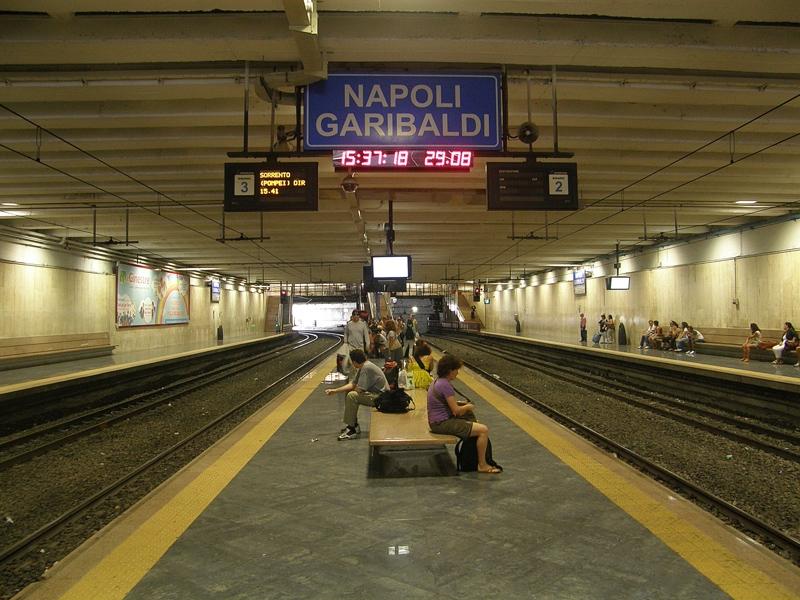 Risultati immagini per stazione di napoli piazza garibaldi circumvesuviana