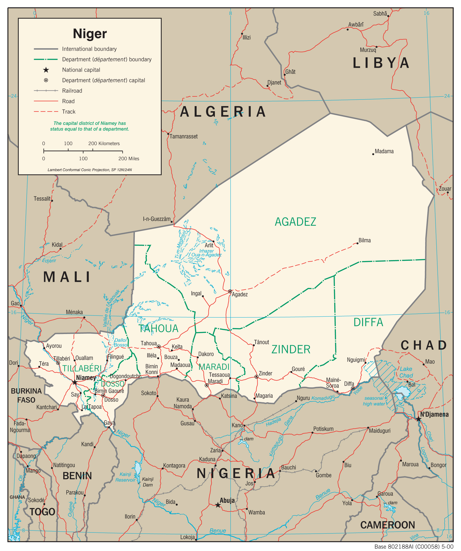 Niger – Reiseführer auf Wikivoyage