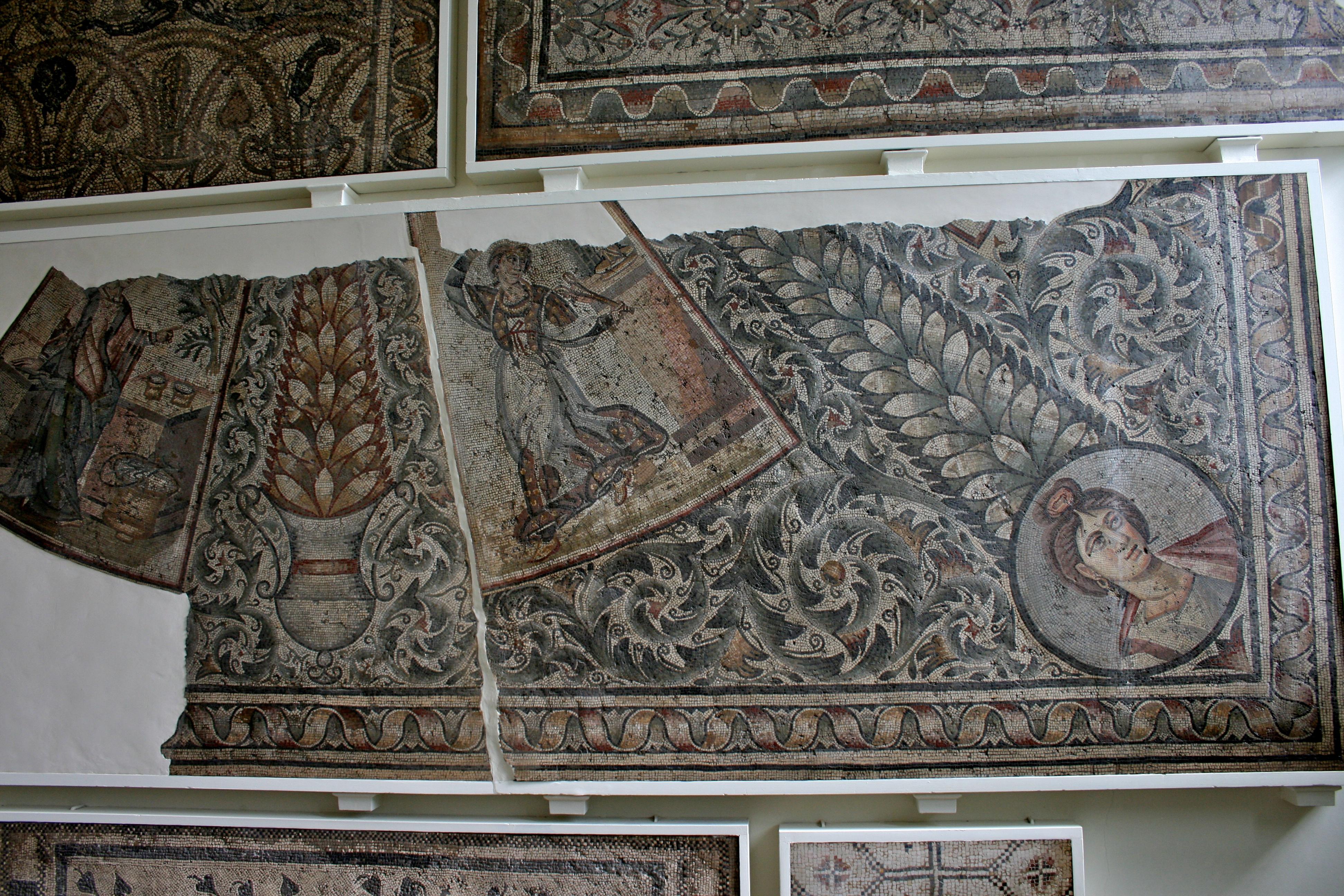 British Museum Mosaics Mosaics British Museum 1