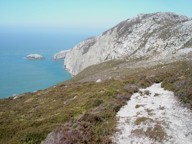North Stack island from Holyhead Mountain - geograph.org.uk - 468941