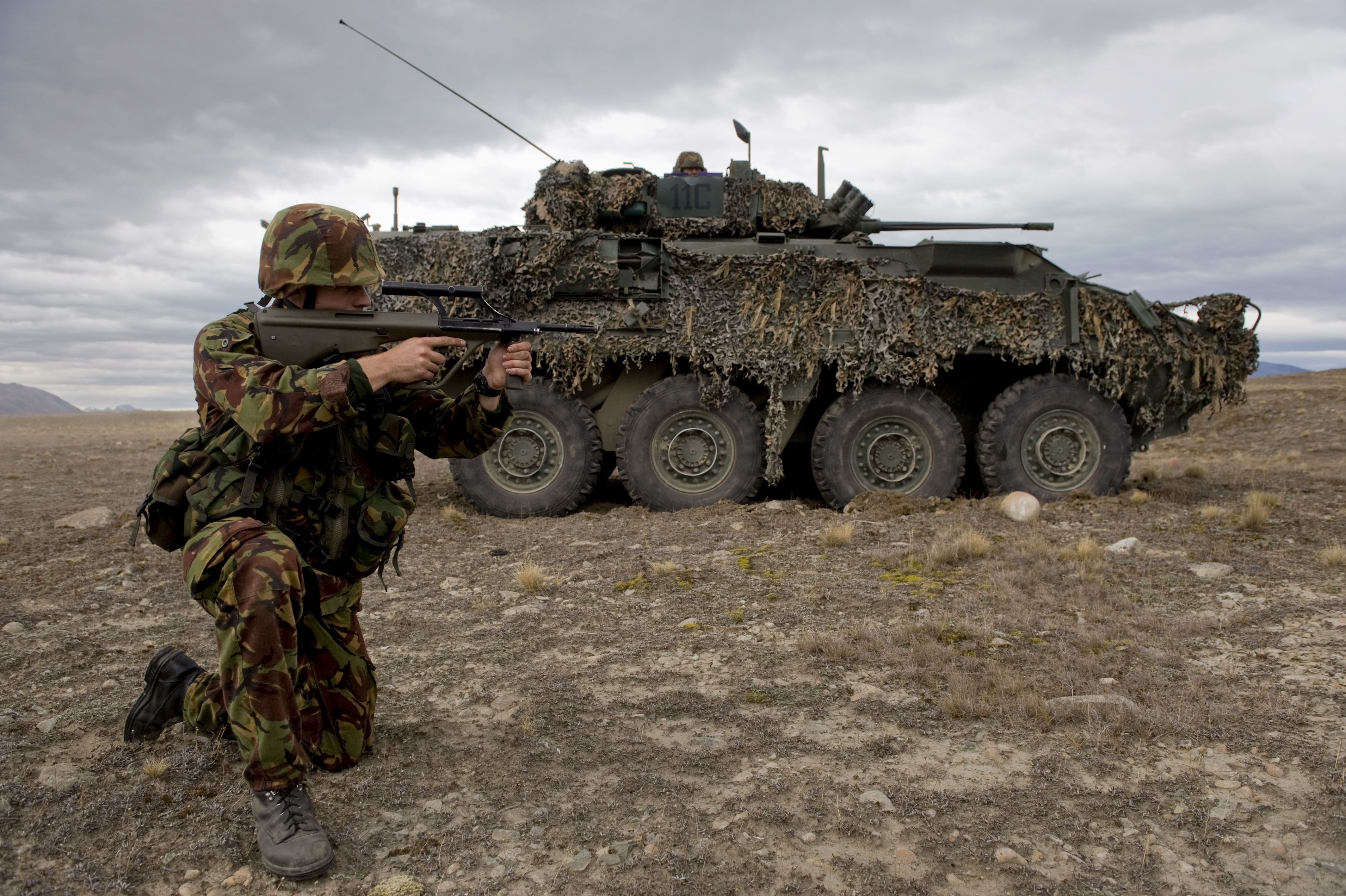 Weaponry of the New Zealand Army - Wikipedia