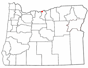 Loko di Biggs Junction, Oregon