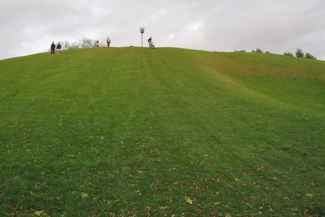 Observation Hill, Newbold Comyn Park - geograph.org.uk - 1564585