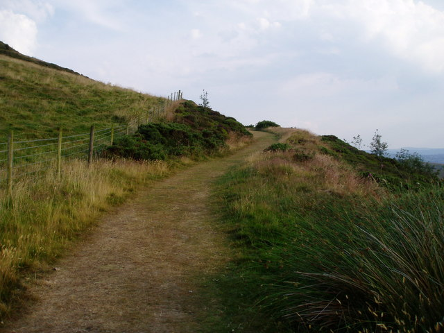 Offa's Dyke Path - geograph.org.uk - 205226