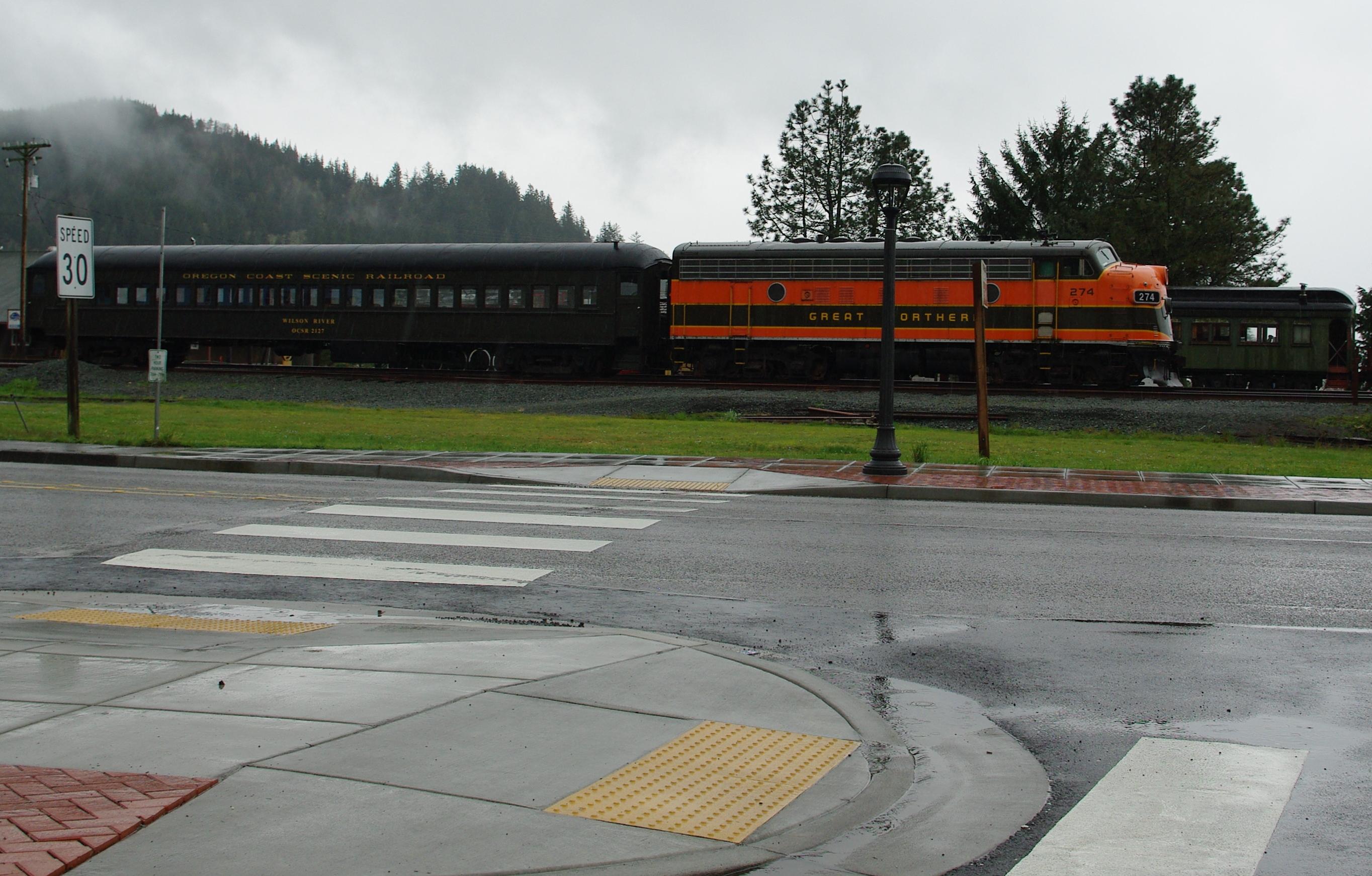 File Oregon Coast Scenic Railroad Garibaldi Oregon Jpg