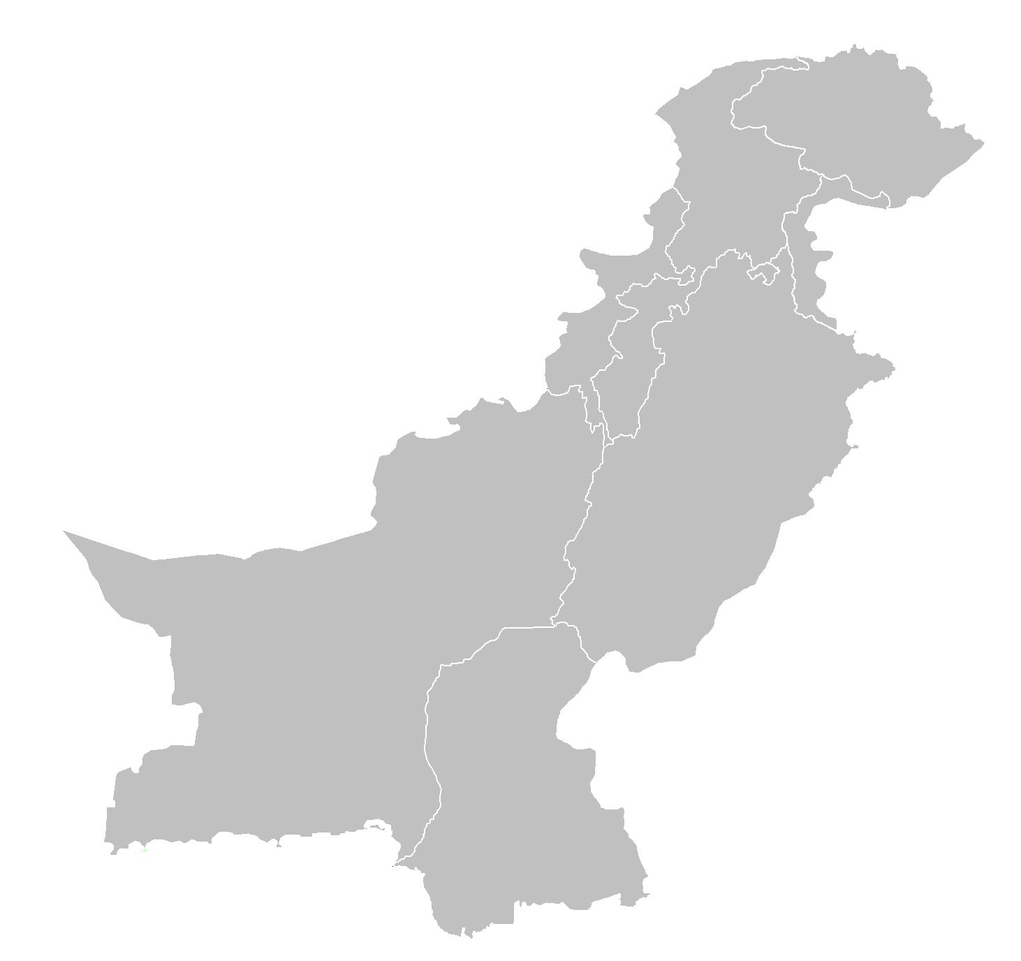Pakistan Map By Pakistan Government