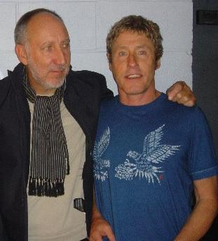 Pete Townshend en Roger Daltrey in Tokyo, Yoka...