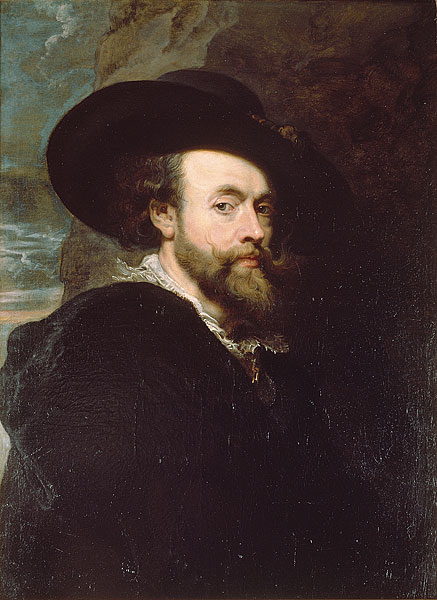 Peter Paul Rubens Self-portrait (Canberra)