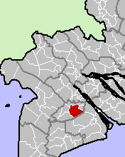 Phụng Hiệp District District in Mekong Delta, Vietnam