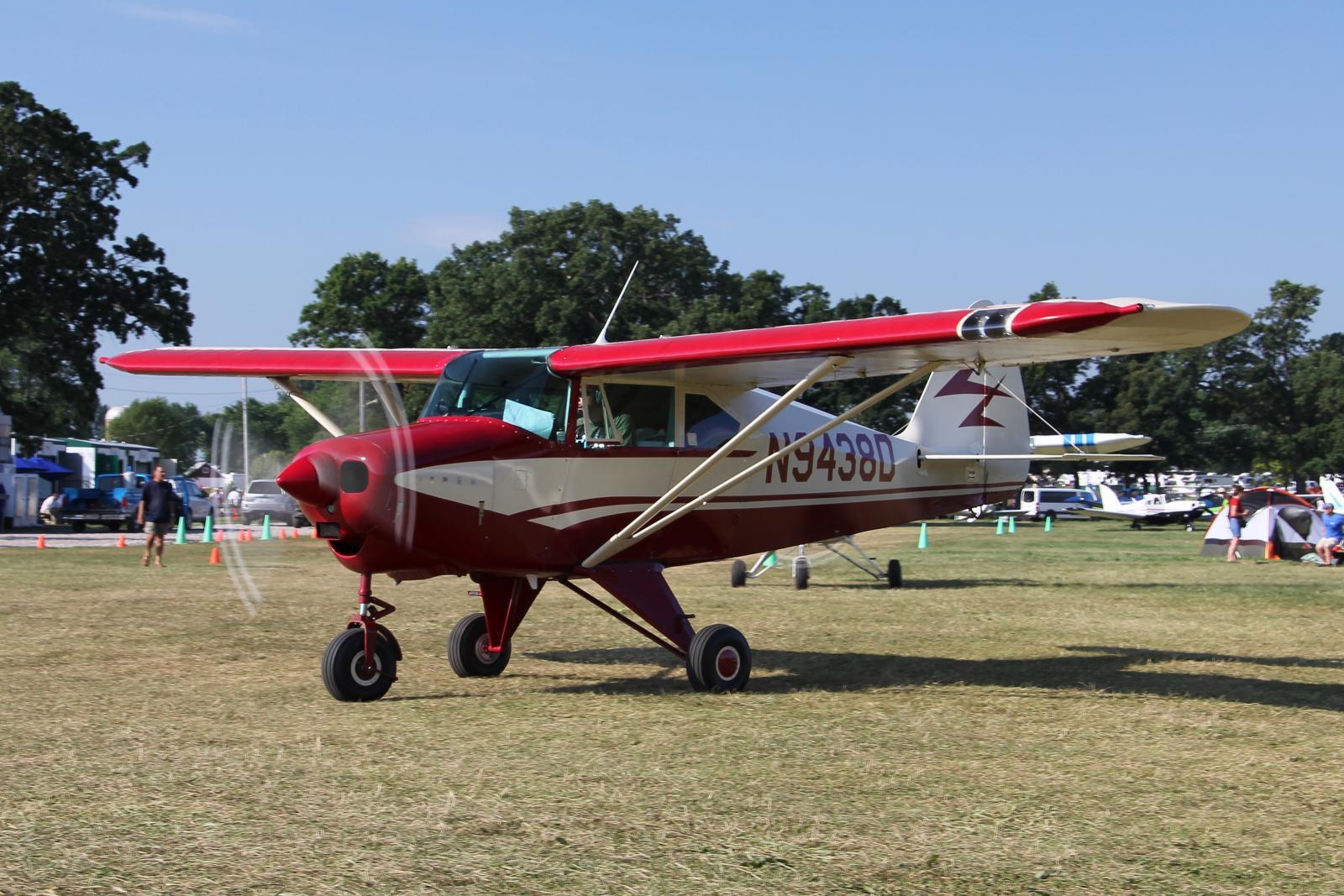 File Piper Pa 22 160 Tri Pacer N9438d Jpg Wikimedia