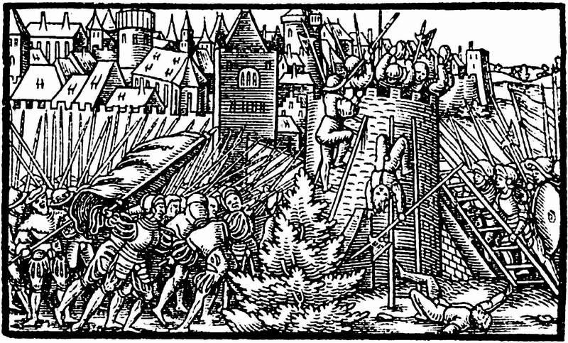 Image result for штурм полоцка московскими войсками 1563