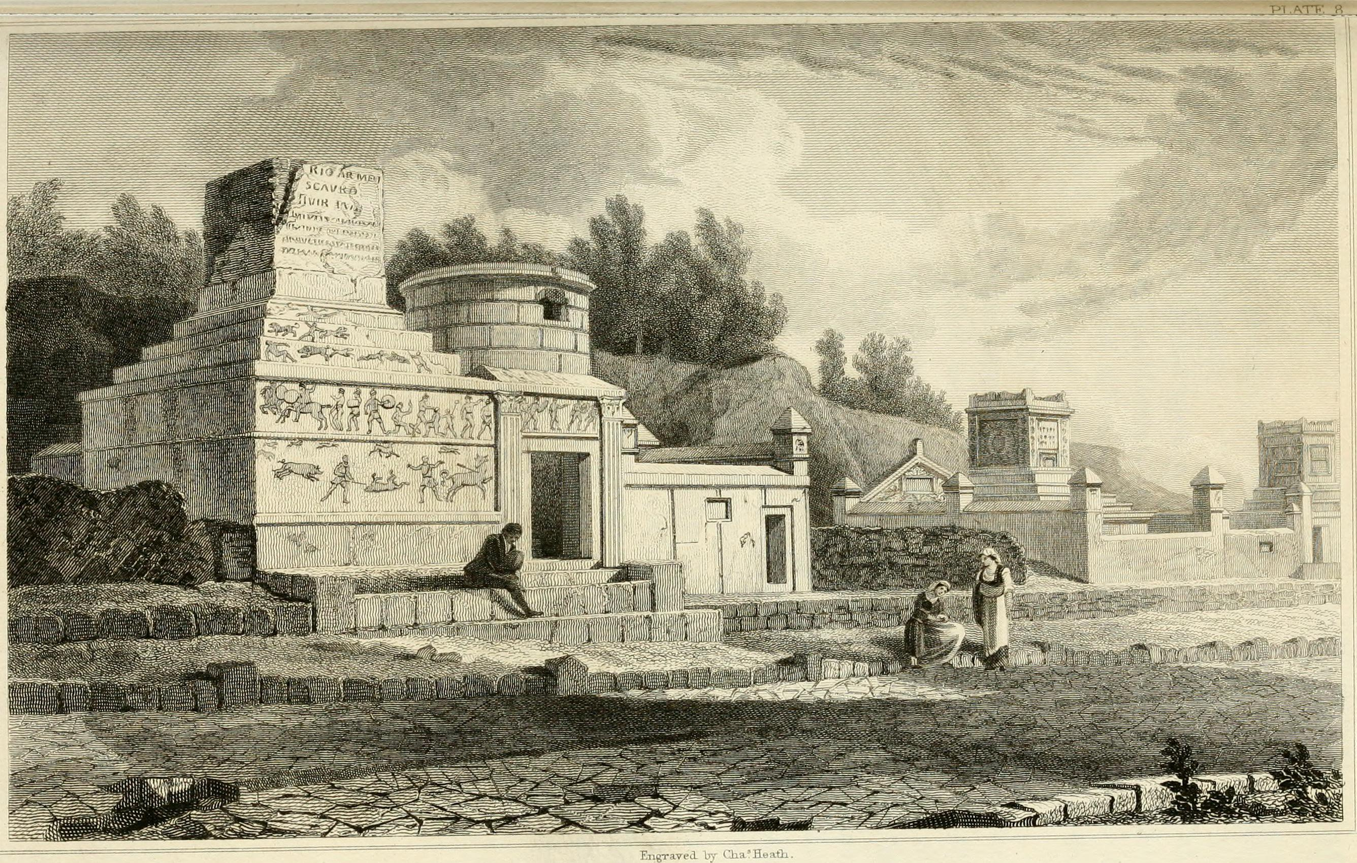 File:Pompeiana - the topography, edifices, and ornaments of Pompeii (1817)