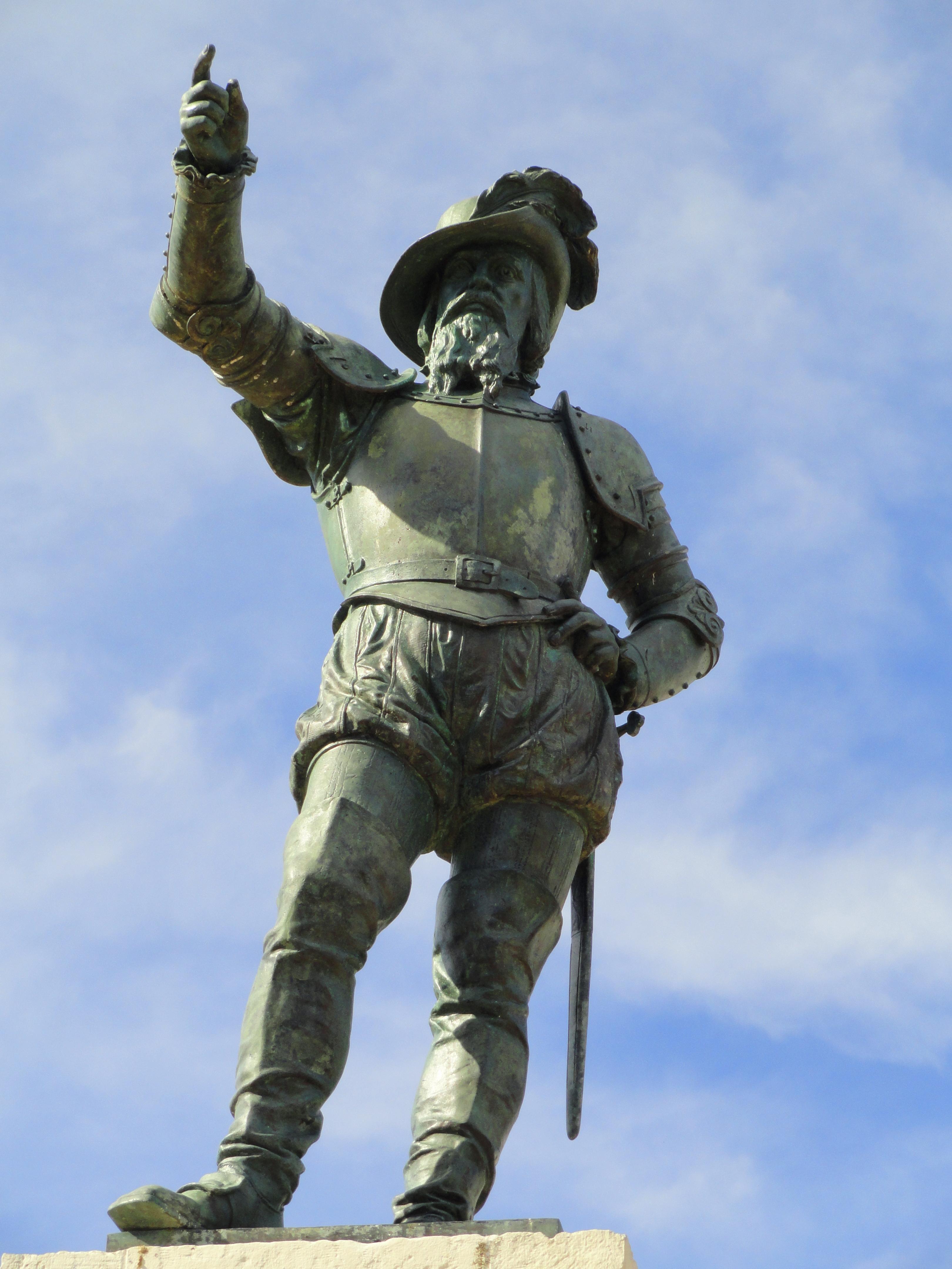 File:Ponce de León statue - San Juan, Puerto Rico - DSC06873.JPG