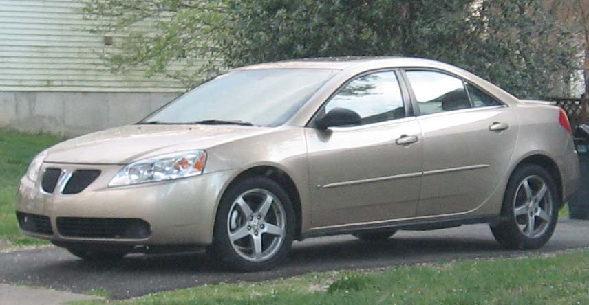 File Pontiac G6 Sedan Jpg Wikimedia Commons