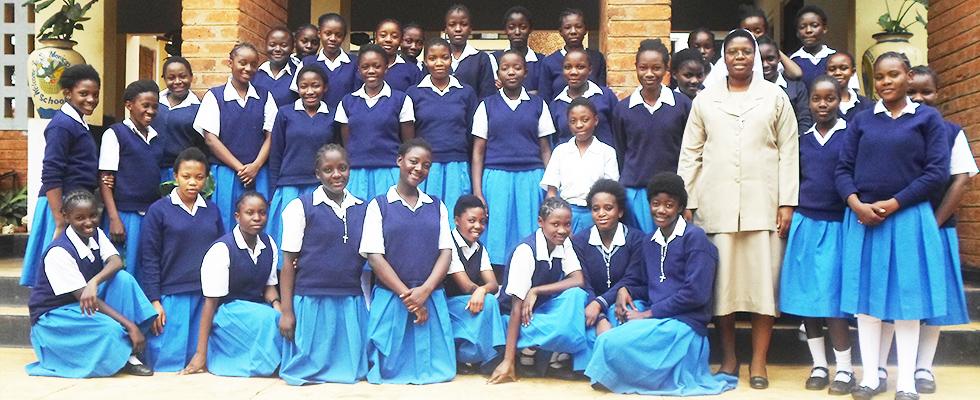 File:Pupils at St Monicas Girls Secondary School.jpg