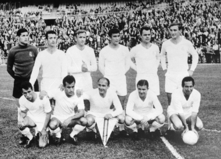 Real Madrid players (1964) los blancos