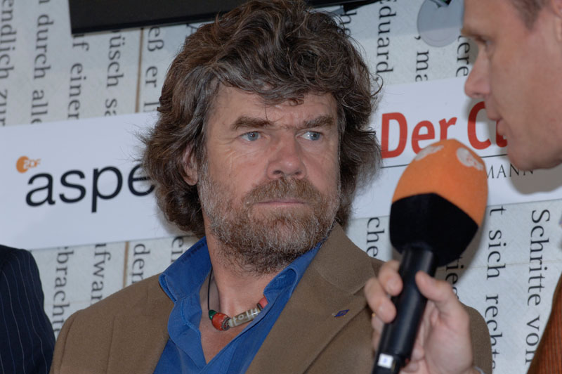 Reinhold Messner Größe