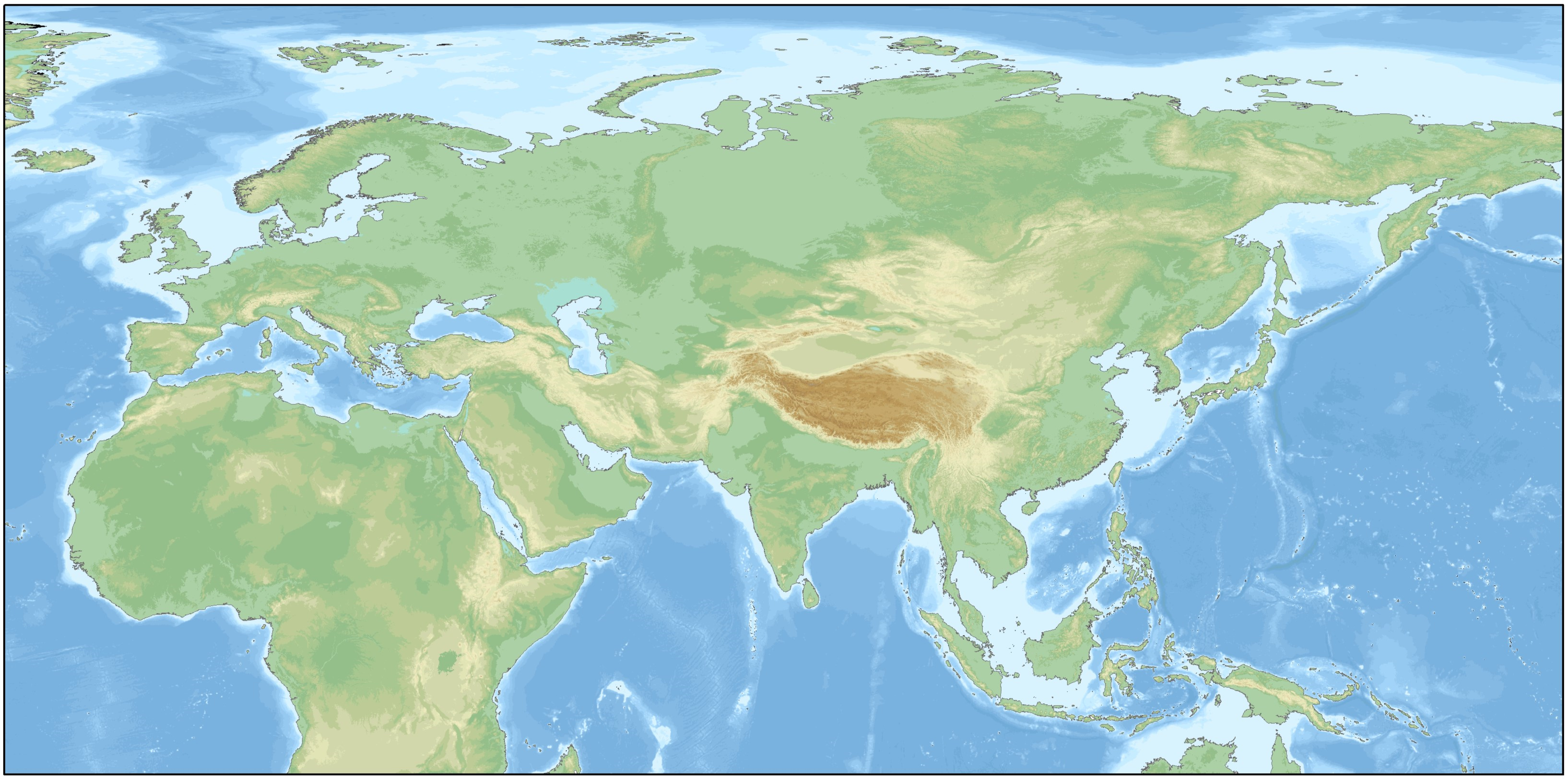 Map Of Eurasia File:Relief map of Eurasia.png   Wikimedia Commons Map Of Eurasia