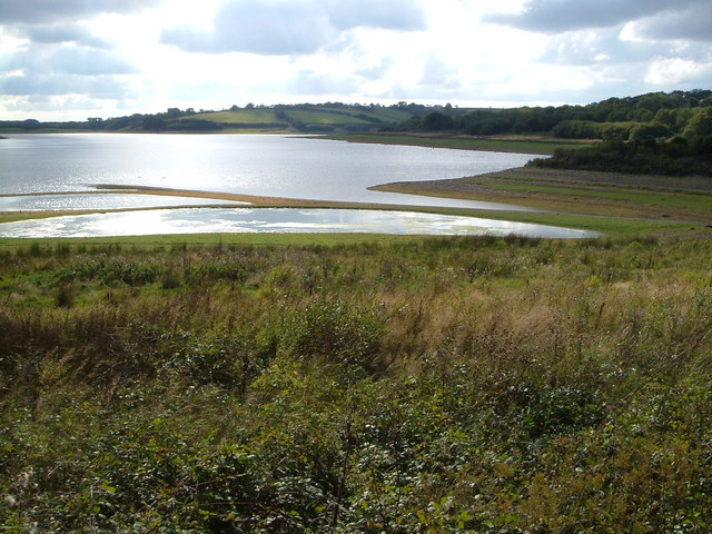 Roadford Reservoir from bird hide - geograph.org.uk - 247245