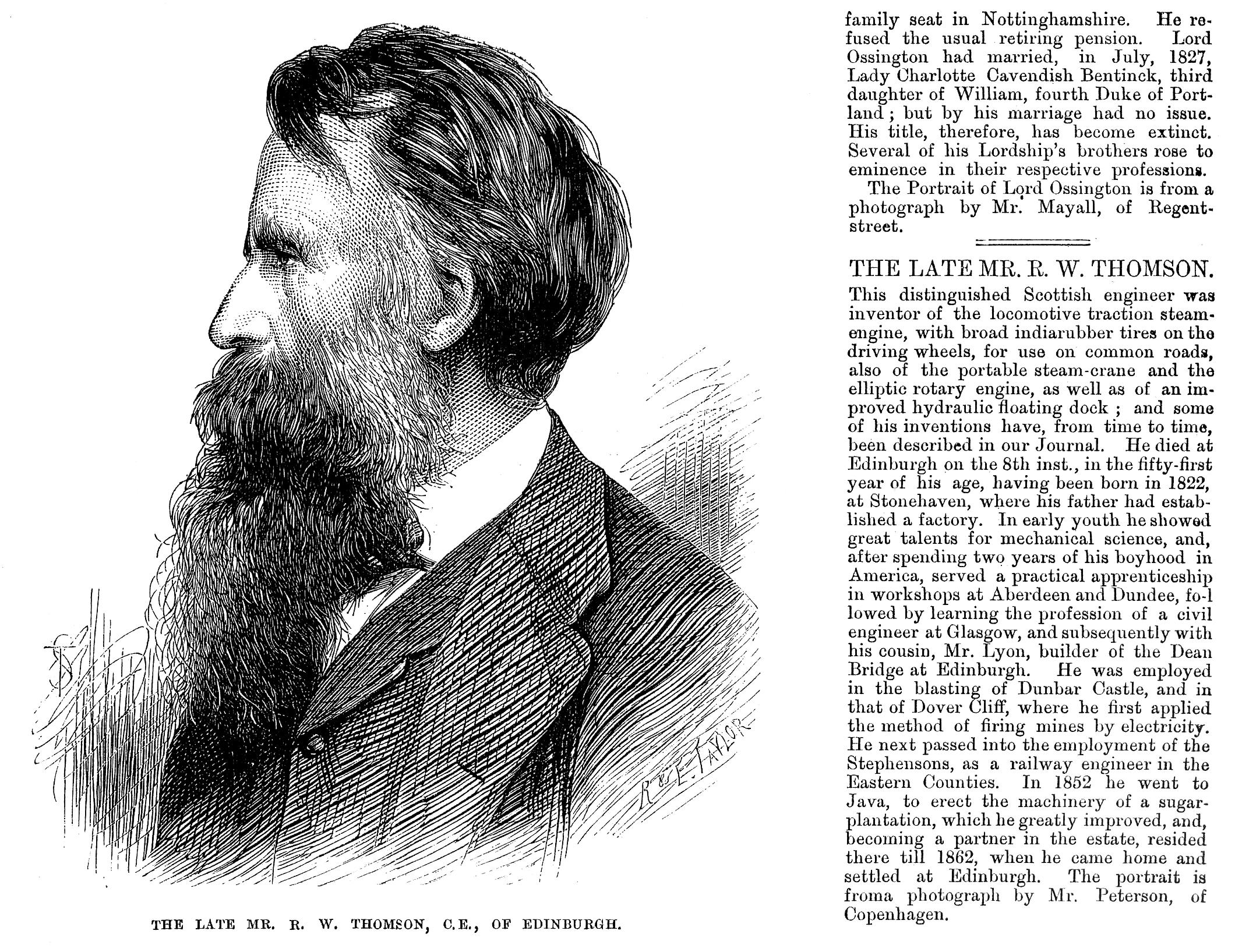 Робърт Уилям Томсън – Уикипедия