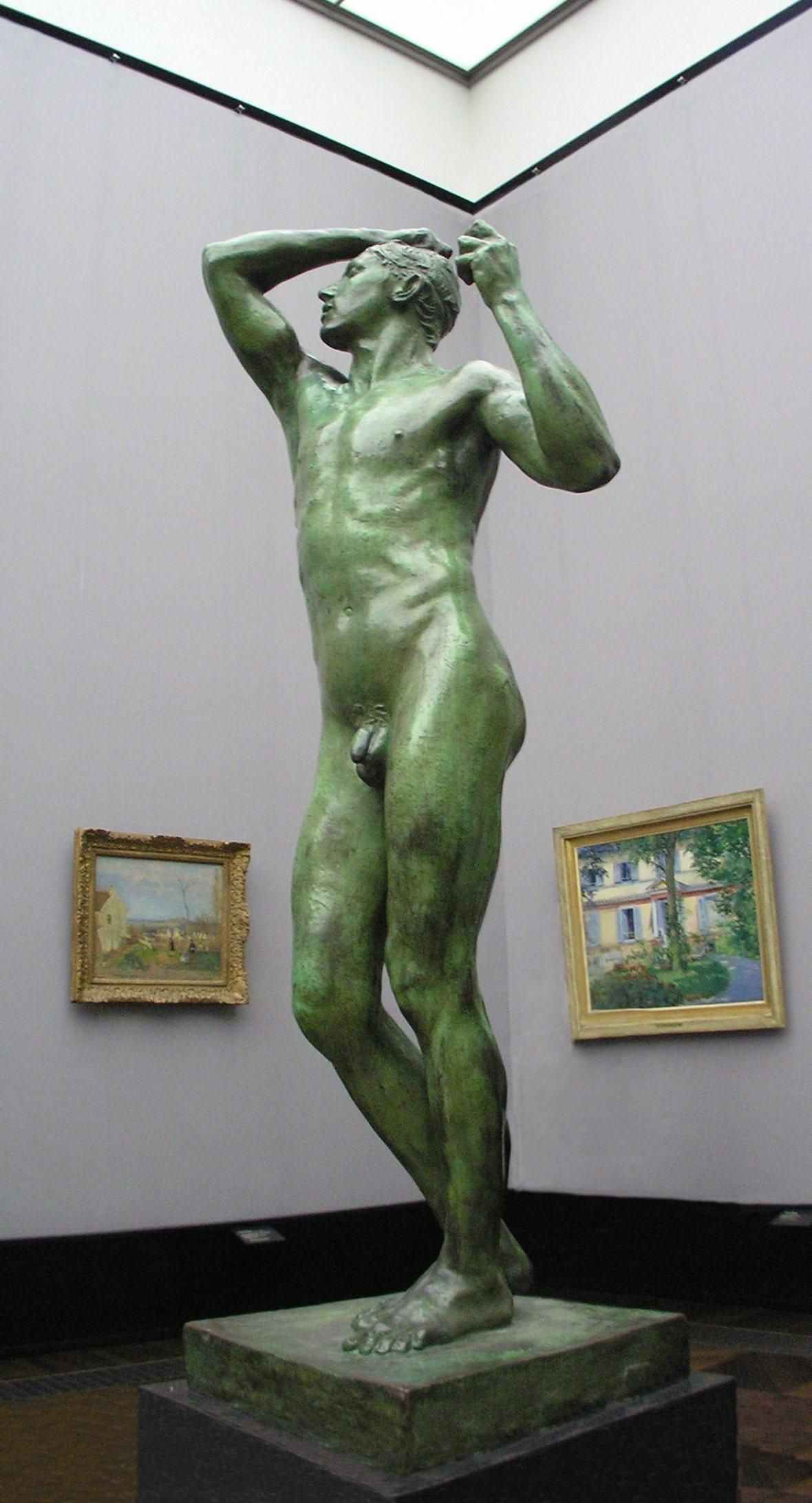 Versão final da Idade de Bronze, de Rodin