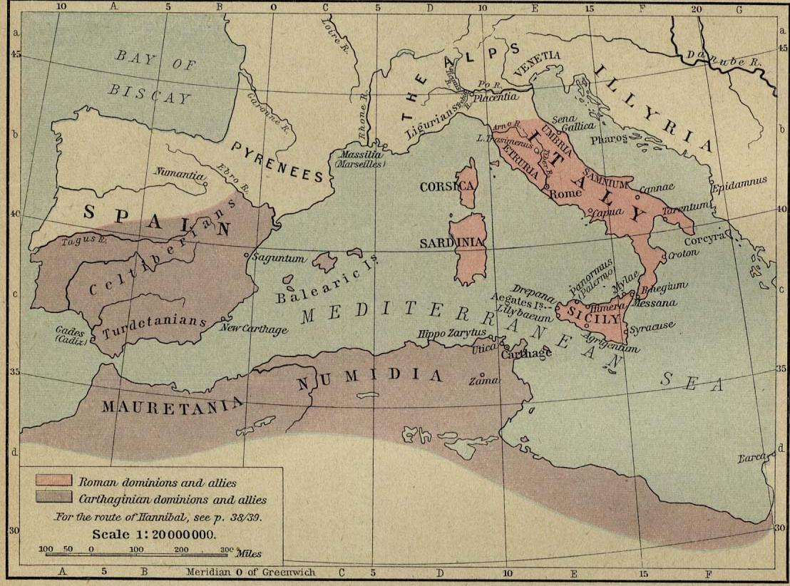 Carthage and Rome Before the Second Punic War