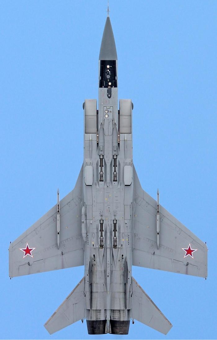 Mig-31 in planform