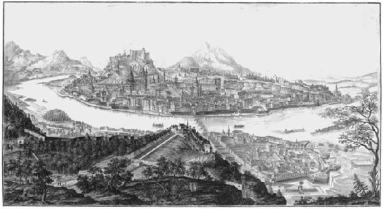 Salzburg 1791 Anton Amon nach Franz von Naumann