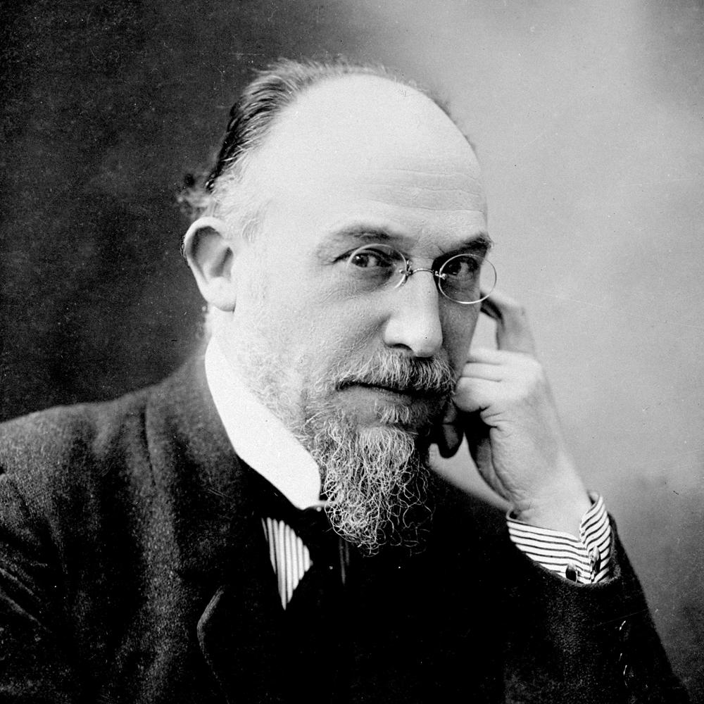 Erik Satie, el experimental. Autor de la obra 'Vexations'.