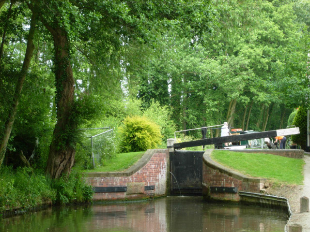 Stratford upon Avon Canal, Preston Bagot - geograph.org.uk - 461573