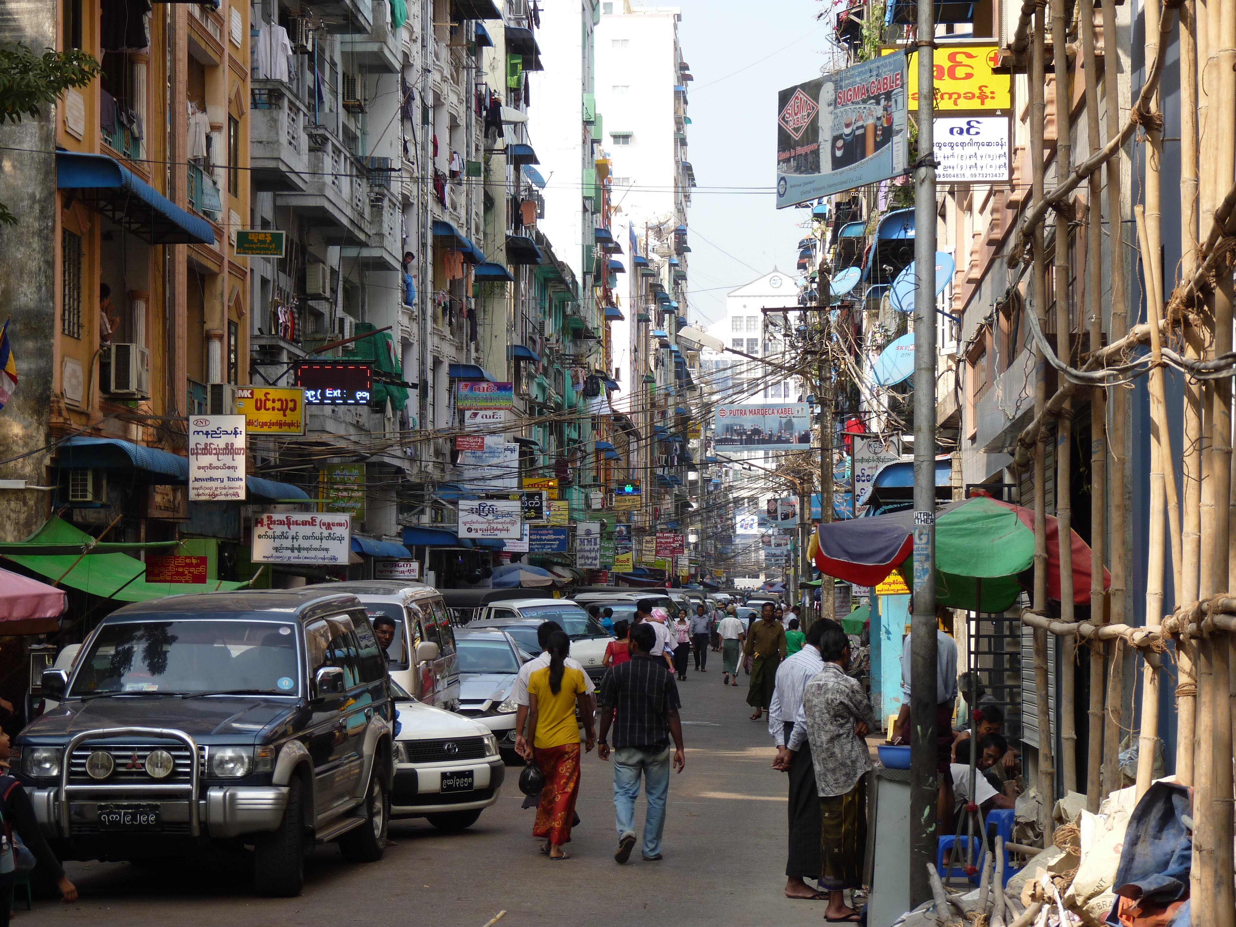 Streets of Yangon (By Dudva)