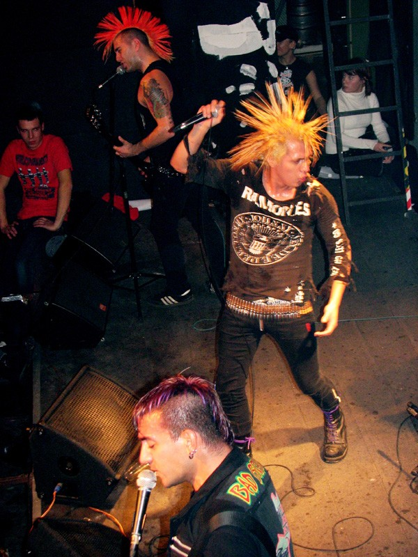The Exploited Tour History