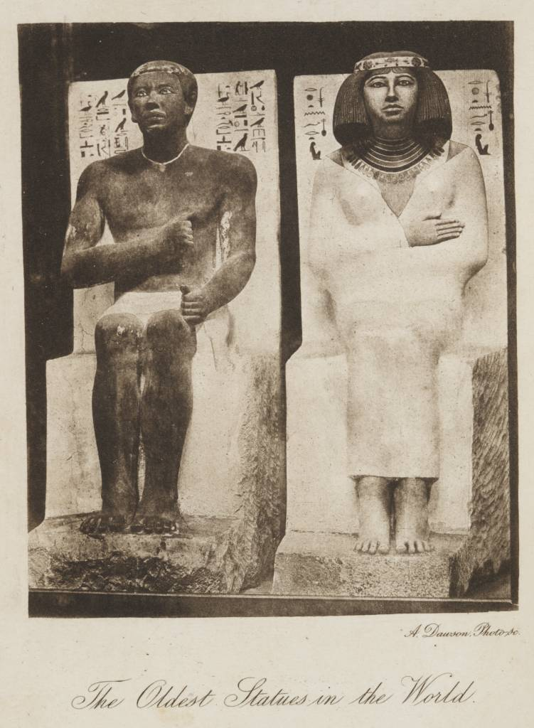 File:The_Oldest_Statues_In_The_World_(1879)_ _TIMEA on Ancient Egypt History