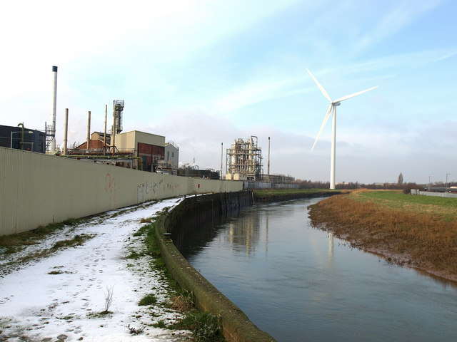 Wind Turbine at Croda Chemical Works, Hull