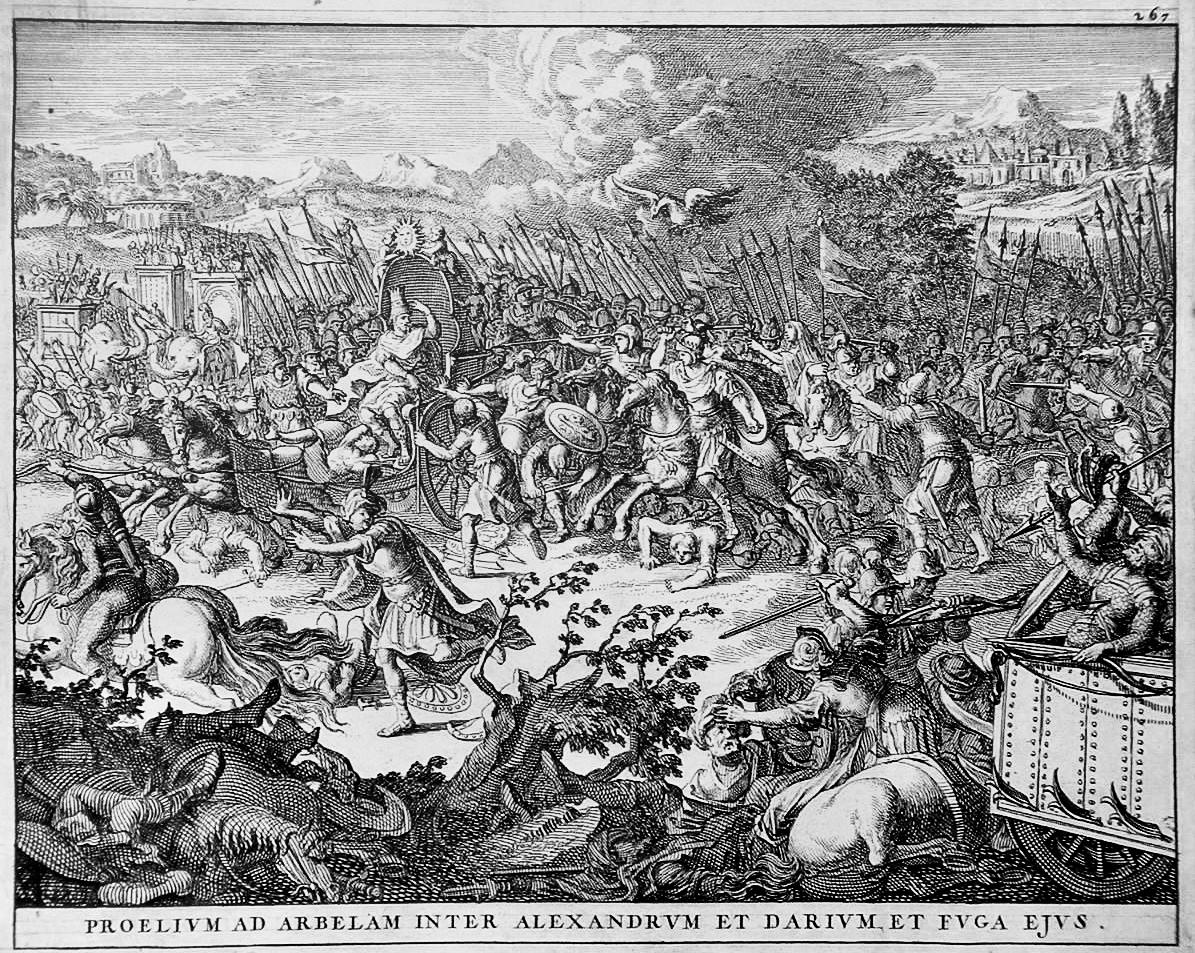 Battle of Gaugamela, 331 BC
