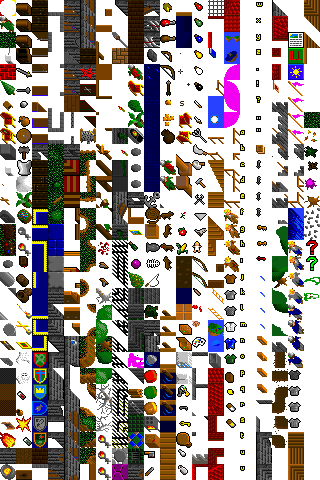 An oblique texture atlas in the style of Ultima VI Tile set.png