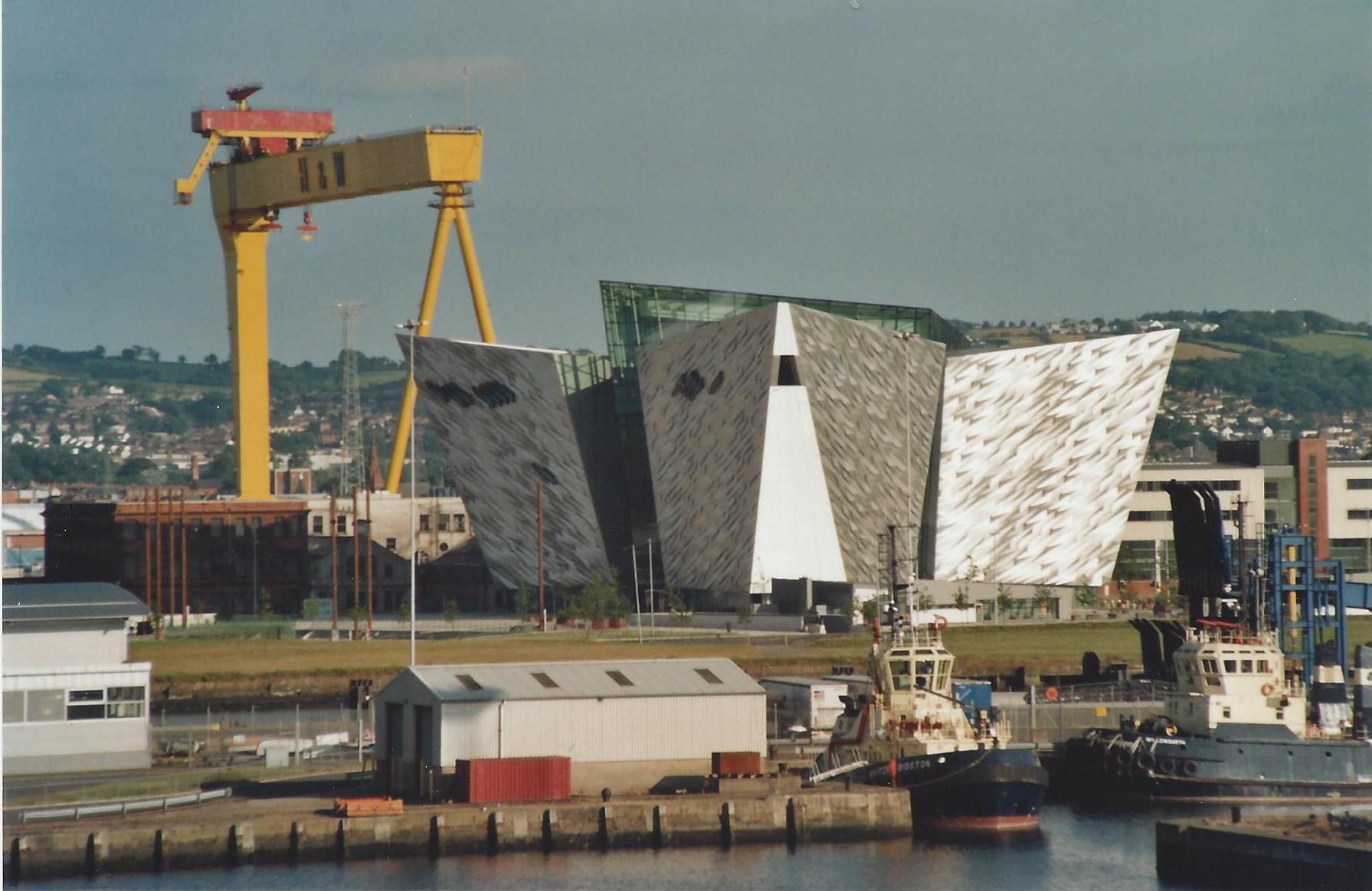 Anic Museum In Belfast Harbour 2017