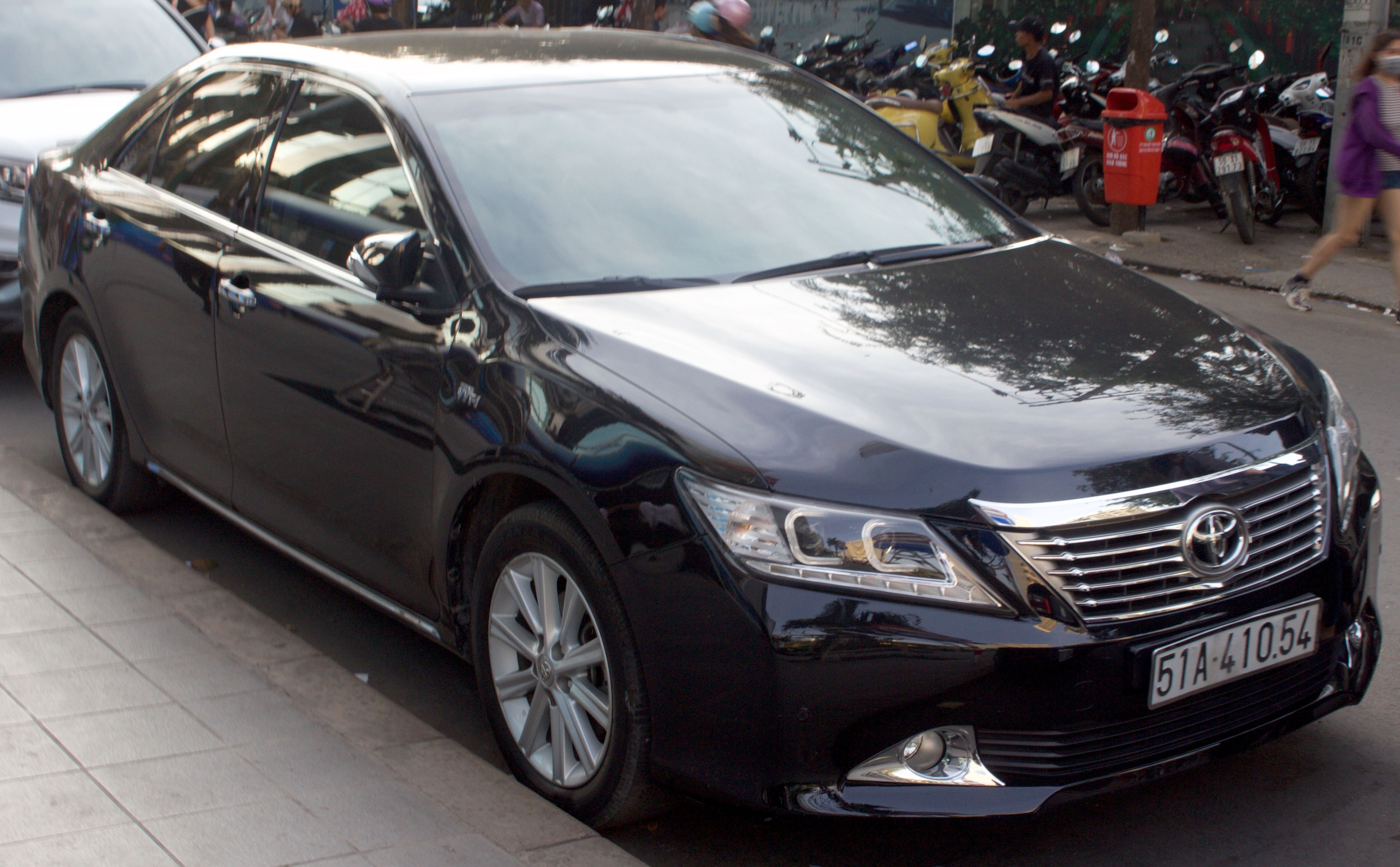 File Toyota Camry 2 5q Xv50 Front View Jpg Wikimedia