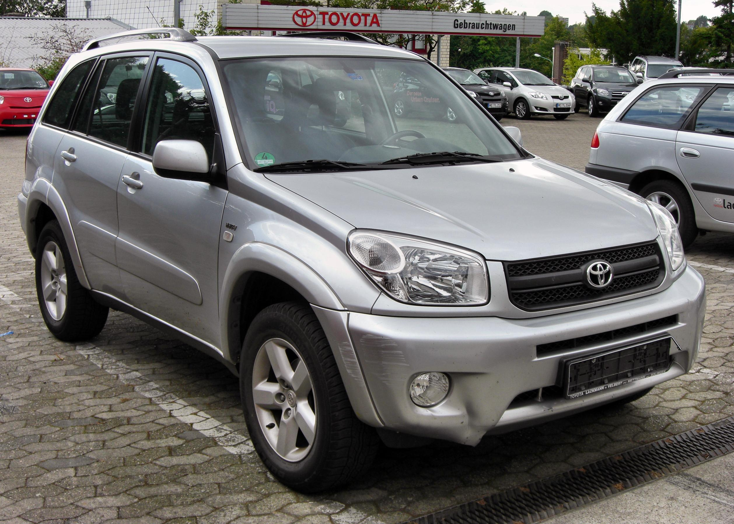All Toyota Vehicles >> File:Toyota RAV4 II 20090830 front.JPG - Wikimedia Commons