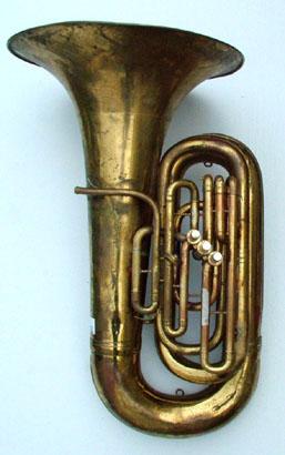 """A """"Monster"""" Conn BBb tuba model 28J"""
