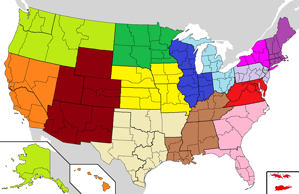 File:USCCB Regions map.png   Wikimedia Commons