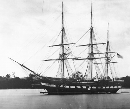 Sloop de guerra USS Constellation (1854), anomenat així en honor de la fragata original Constellation.