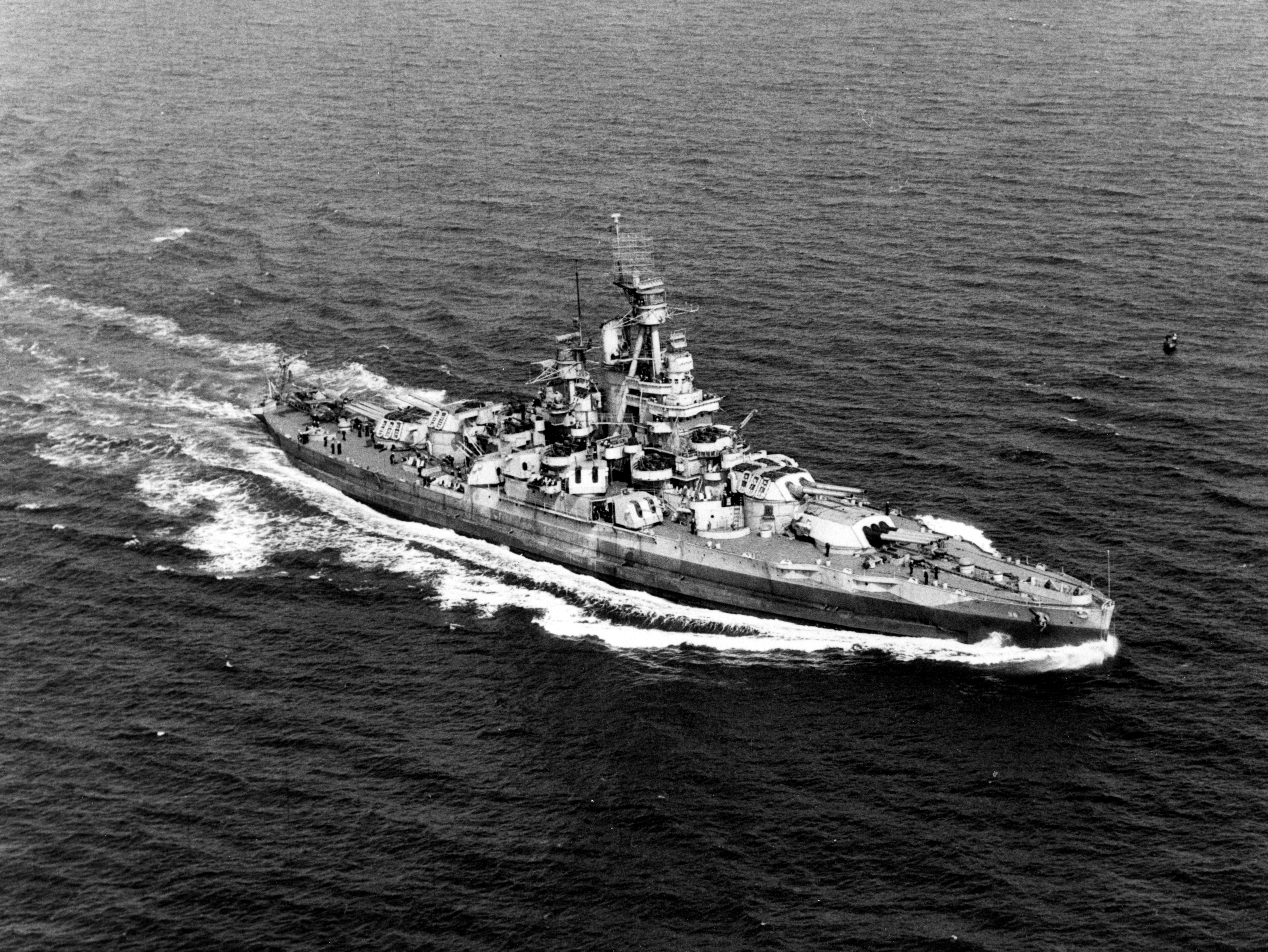 The USS Nevada